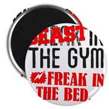 beast-in-the-gym Magnet