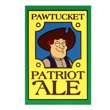 Pawtucket Patriot Ale Postcards (Package of 8)