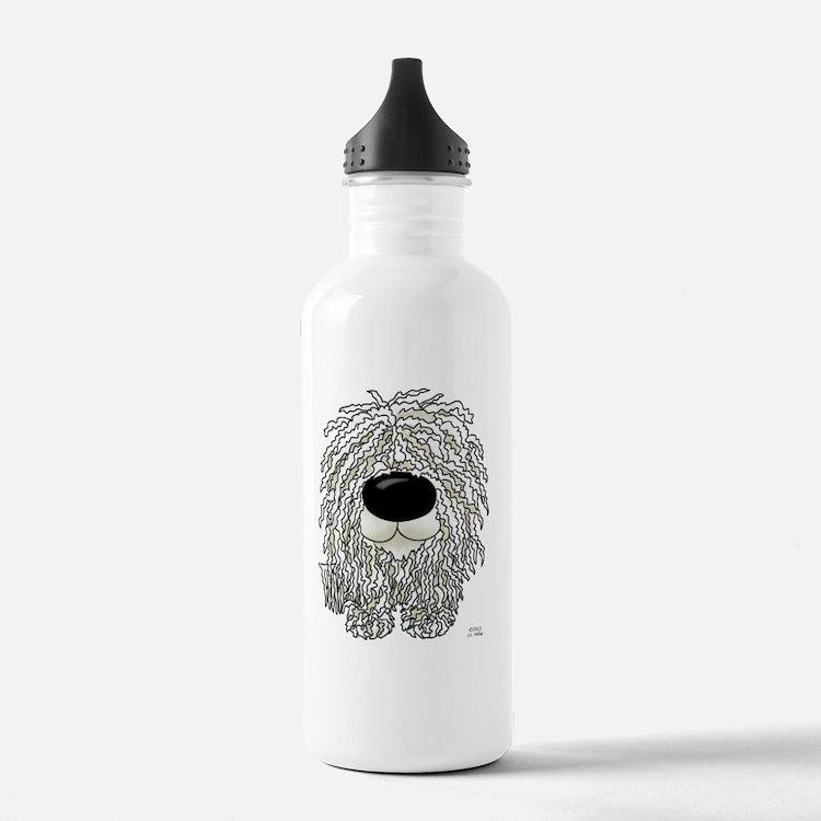 Komondor5x7 Water Bottle