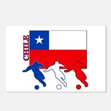 Chile Soccer Postcards (Package of 8)