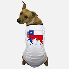 Chile Soccer Dog T-Shirt