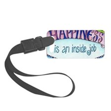 Happiness Luggage Tag
