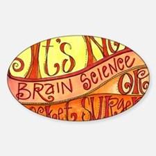 Brain Science Decal