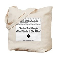 Be A Champion Tote Bag
