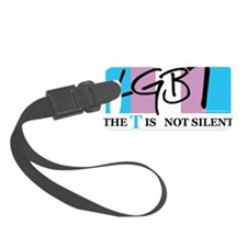 The-T-Is-Not-Silent Luggage Tag