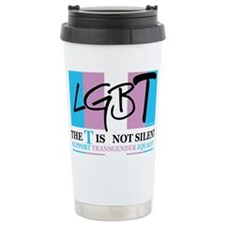 The-T-Is-Not-Silent Travel Coffee Mug