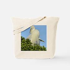 great egret 2000x2000 Tote Bag