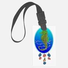 Ocean Spirit Sea Horse Luggage Tag