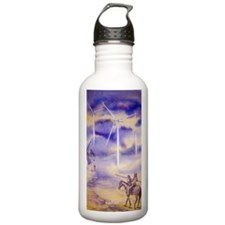 donqpainting2 Sports Water Bottle