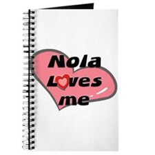 nola loves me Journal