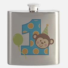 BoyPartyMonkey1stBirthdayV2 Flask