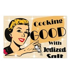 COOKING-GOOD-14x10_LARGE- Postcards (Package of 8)