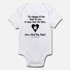 Language of Love Infant Bodysuit