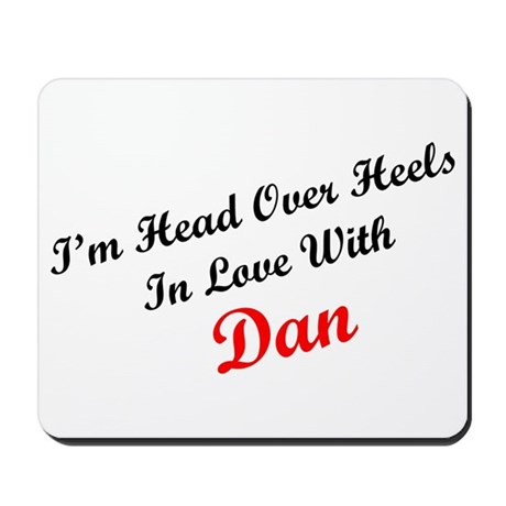 In Love with Dan Mousepad