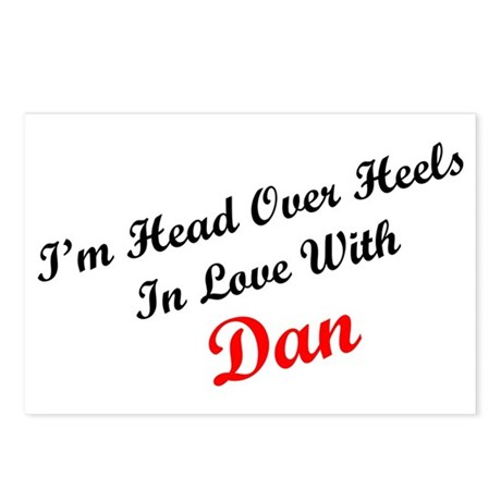 In Love with Dan Postcards (Package of 8)
