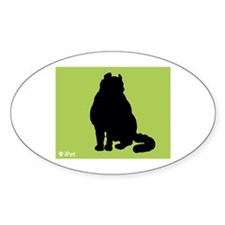 Curl iPet Oval Decal