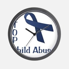 Child_abuse Wall Clock