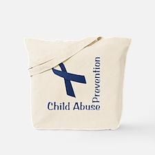 Child_Abuse_Prevention_wht Tote Bag