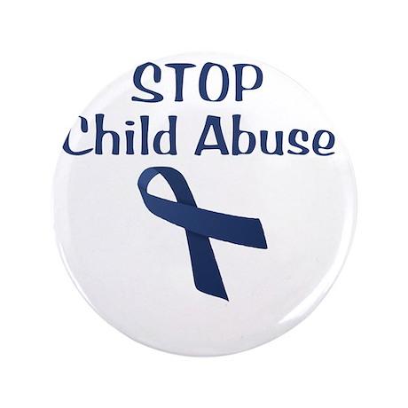 "Child_Abuse_hurt_wht 3.5"" Button"