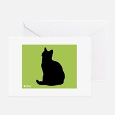 Shorthair iPet Greeting Cards (Pk of 10)