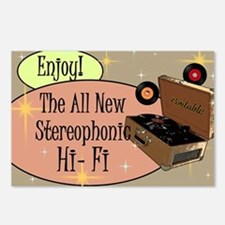 stereophonic-hi-fi-14x10_ Postcards (Package of 8)