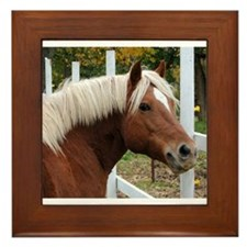 Be Haffie Framed Tile