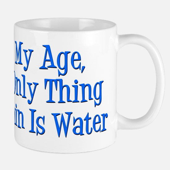 Only Thing I Retain Is Water Mug