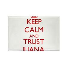 Keep Calm and TRUST Iliana Magnets