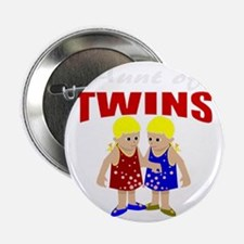 """Aunt of twins 2.25"""" Button"""