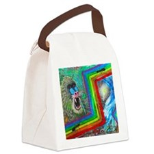 Anthro Apology Canvas Lunch Bag