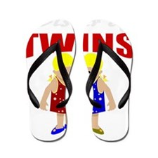 Twins sister Flip Flops