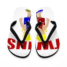 cute maternity twins Flip Flops