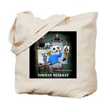 Meerkat Self-Portrait Tote Bag