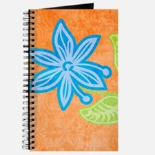 ipad2CaseBlueFlower Journal