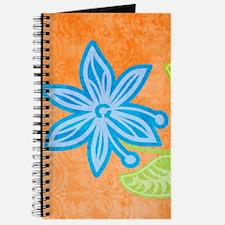 ipadSleeveBlueFlower Journal