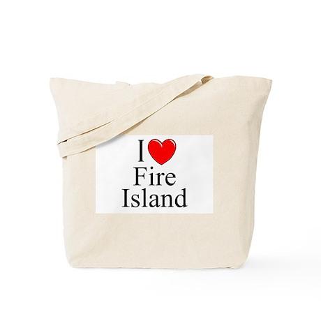 """""""I Love Fire Island"""" Tote Bag"""