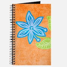 nookSleeveBlueFlower Journal