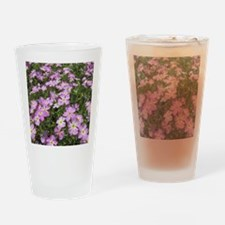 Pink phlox Drinking Glass