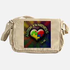 autismawareness-1in88-roundorsquare Messenger Bag
