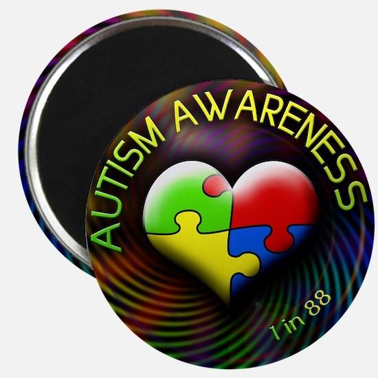 autismawareness-1in88-roundorsquare Magnet