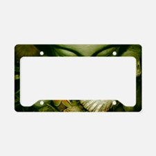 Beach Buddha License Plate Holder