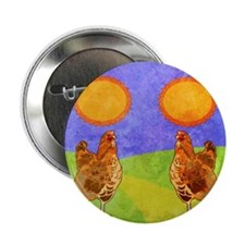 "flipFlopsRooster 2.25"" Button"