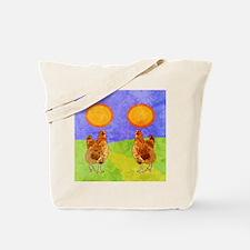 flipFlopsRooster Tote Bag