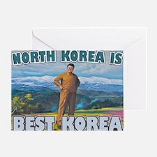 North Korean Is Best Korean Greeting Card