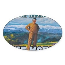 North Korean Is Best Korean Decal