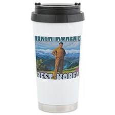 North Korean Is Best Korean Travel Mug