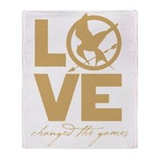 love changed the games Throw Blanket