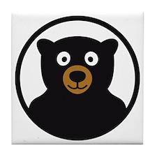 Bear B 04_2012 2c Tile Coaster