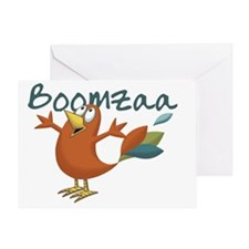 Boomgono-Up Greeting Card