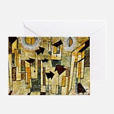 Klee: Wall Painting from the Temple  Greeting Card